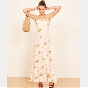 Reformation Prarie Dress Constance Maxi Floral